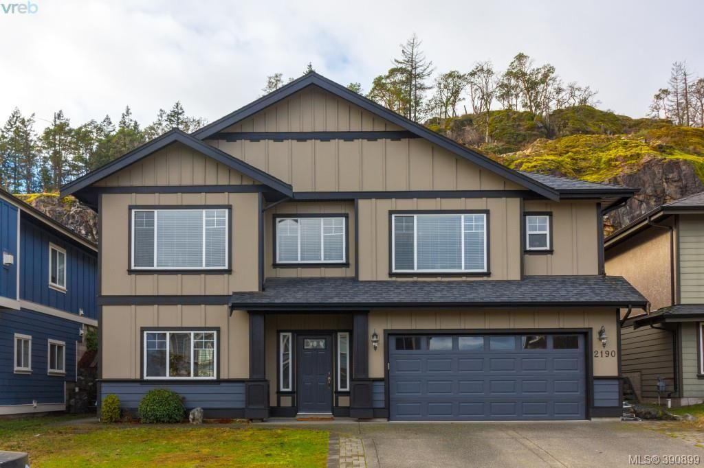 Main Photo: 2190 Longspur Drive in VICTORIA: La Bear Mountain Single Family Detached for sale (Langford)  : MLS®# 390899