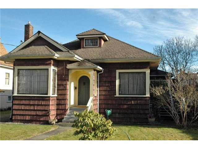 Main Photo: 525 5TH ST in New Westminster: Queens Park House for sale : MLS® # V1002285