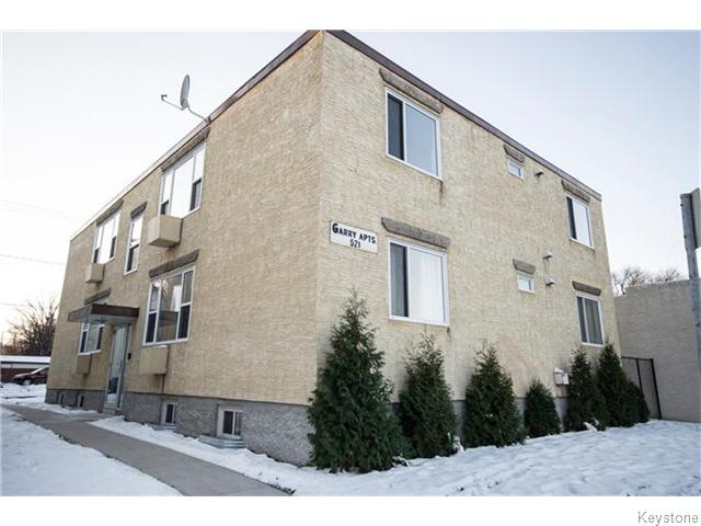 Main Photo: 2 521 Osborne Street in Winnipeg: Fort Rouge Apartment for sale (Winnipeg area)  : MLS® # 1531050