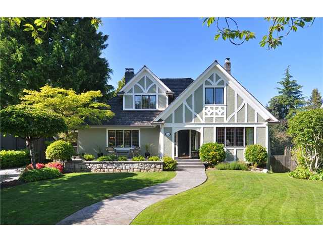 Main Photo: 1749 W 38TH Avenue in Vancouver: Shaughnessy House  (Vancouver West)  : MLS® # V1068329