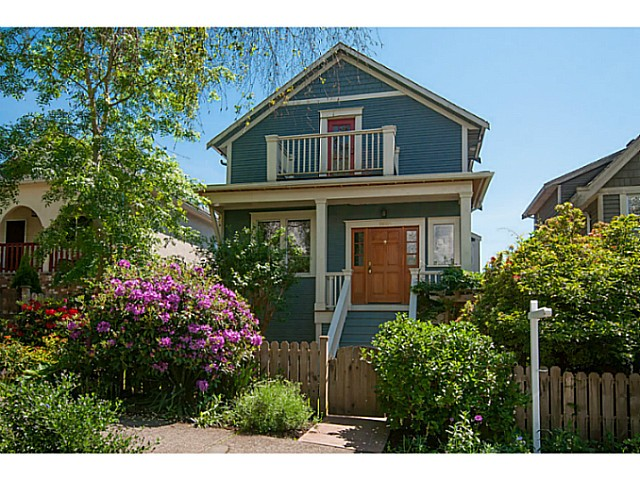Main Photo: 1924 East 4th Avenue in Vancouver: Grandview VE House for sale (Vancouver East)  : MLS®# v1125266