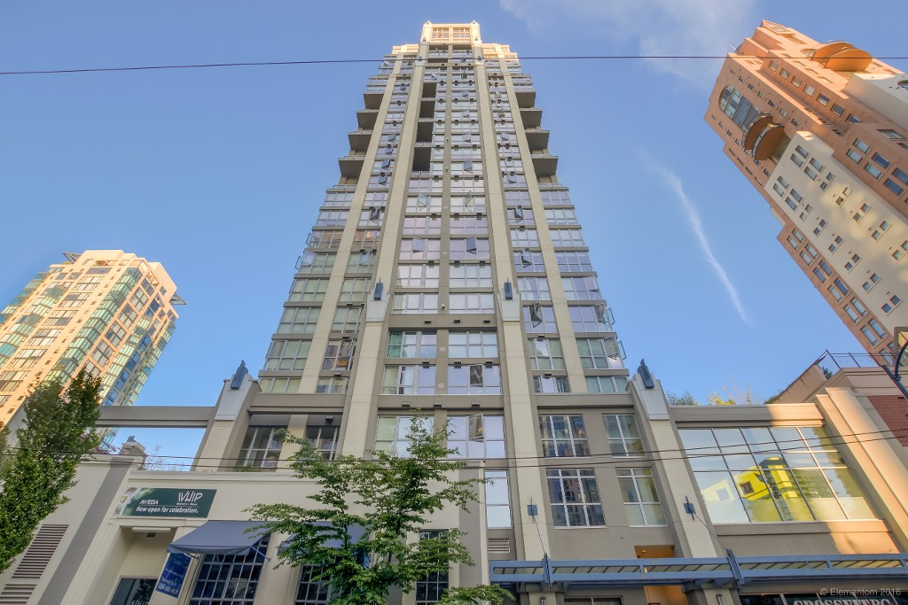 Main Photo: 1405 1238 Richards Street in Vancouver: Condo  : MLS® # R2077244