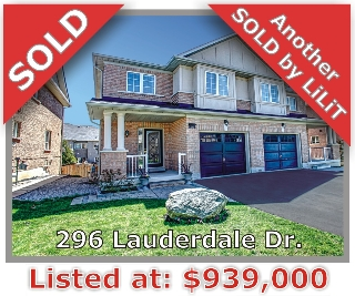 Main Photo: 296 Lauderdale Dr in Vaughan: Patterson Freehold for sale