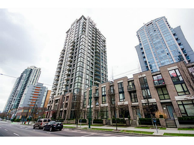 Main Photo: 1605 1295 Richards Street in Vancouver West: Downtown VW Condo for sale : MLS® # V1039646