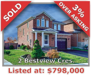 Main Photo: 2 Bestview Crescent in Vaughan: Rural Vaughan Freehold for sale