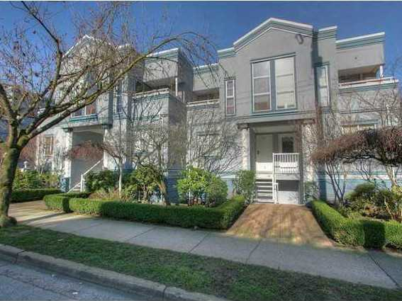 "Main Photo: # 6 877 W 7TH AV in Vancouver: Fairview VW Townhouse for sale in ""EMERALD COURT"" (Vancouver West)  : MLS(r) # V1028020"