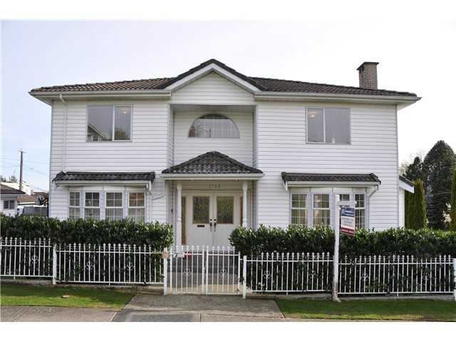 Main Photo: 1708 E 62ND AVEUE in Vancouver: Fraserview VE House for sale (Vancouver East)  : MLS®# V1090522