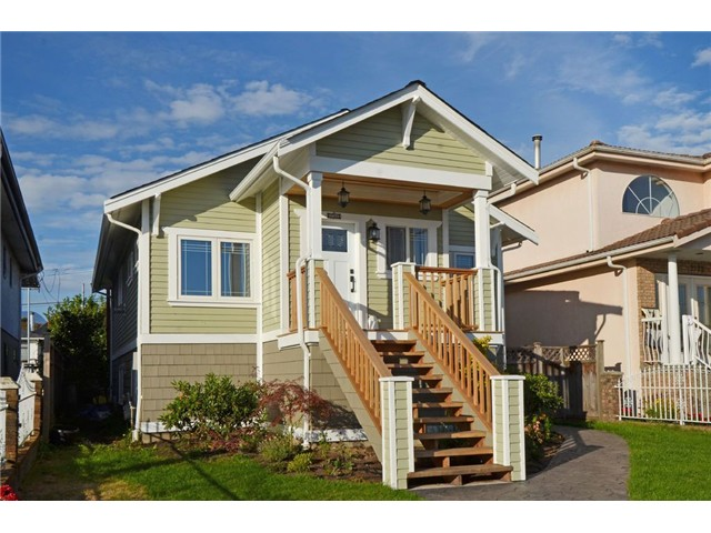 Main Photo: 2761 E GEORGIA ST in Vancouver: Renfrew VE House for sale (Vancouver East)  : MLS® # V1089710