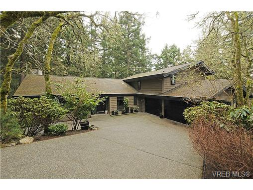 Main Photo: 4449 Sunnywood Place in VICTORIA: SE Broadmead Residential for sale (Saanich East)  : MLS® # 332321