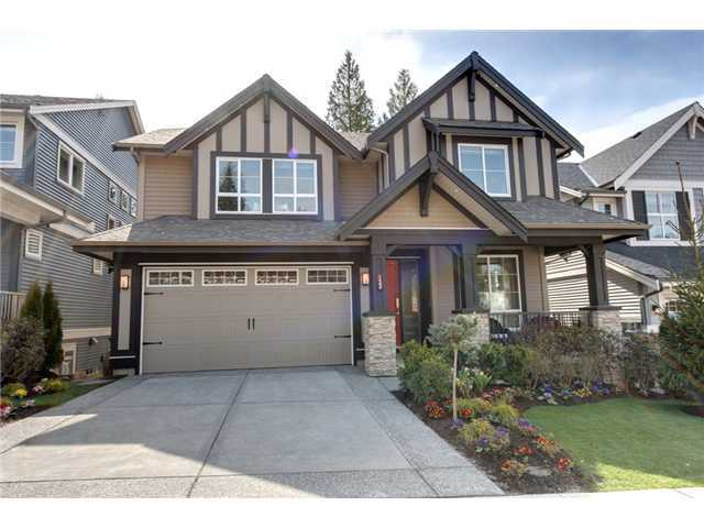 Main Photo: 3400 DERBYSHIRE AV in Coquitlam: Burke Mountain House for sale : MLS®# V1038193