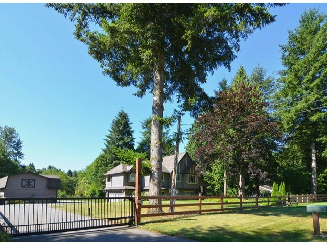 Photo 1: 21964 6TH AV in Langley: Campbell Valley House for sale : MLS® # F1417390