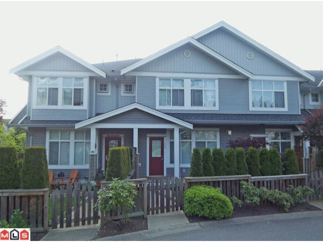 "Main Photo: 90 20449 66TH Avenue in Langley: Willoughby Heights Townhouse for sale in ""Nature's Landing"" : MLS®# F1208000"