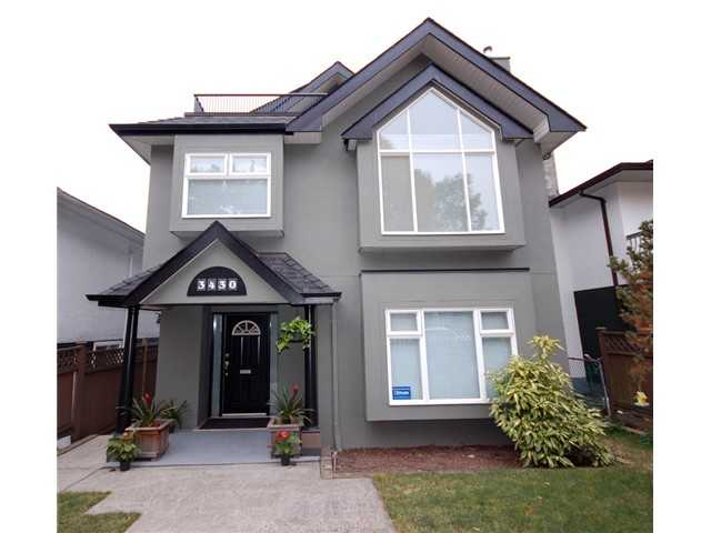 Main Photo: 3430 NAPIER Street in Vancouver: Renfrew VE House for sale (Vancouver East)  : MLS(r) # V993572