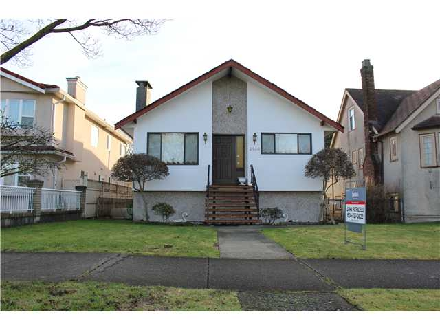 Main Photo: 2540 CHARLES ST in Vancouver: Renfrew VE House for sale (Vancouver East)  : MLS® # V1100710