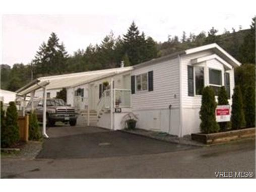 Main Photo: 26 2587 Selwyn Road in VICTORIA: La Mill Hill Manu Single-Wide for sale (Langford)  : MLS® # 226946