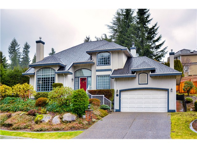 Main Photo: 2 LAUREL PL in Port Moody: Heritage Mountain House for sale : MLS®# V1104349