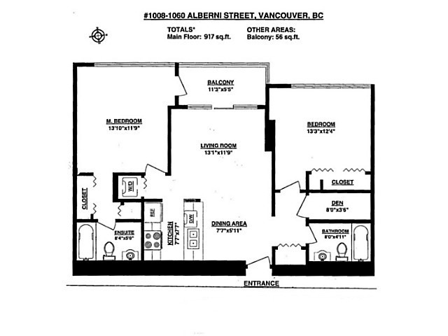 Photo 18: # 1008 1060 ALBERNI ST in Vancouver: West End VW Condo for sale (Vancouver West)  : MLS(r) # V1092038