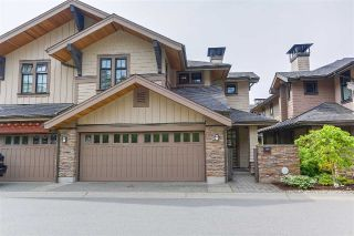 Main Photo: 40 3639 ALDERCREST DRIVE in North Vancouver: Roche Point Townhouse for sale : MLS®# R2279974
