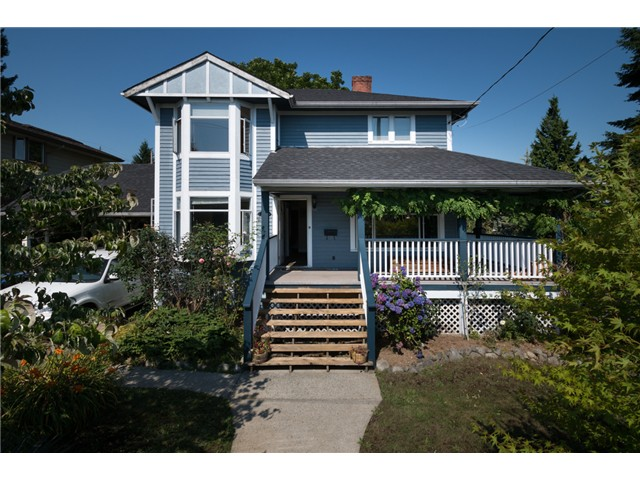 "Main Photo: 917 SECOND Street in New Westminster: GlenBrooke North House for sale in ""GLENBROOKE NORTH"" : MLS® # V1075704"