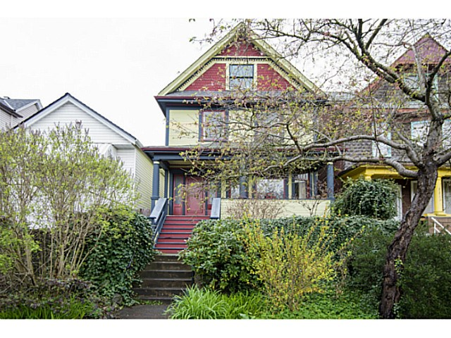Main Photo: 623 E Pender Street in Vancouver: Mount Pleasant VE House for sale (Vancouver East)  : MLS(r) # V1132148