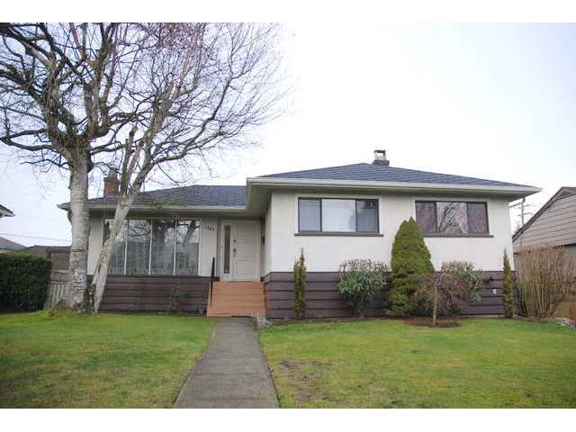 Main Photo: 1057 W 49TH Avenue in Vancouver: South Granville House for sale (Vancouver West)  : MLS® # V989380