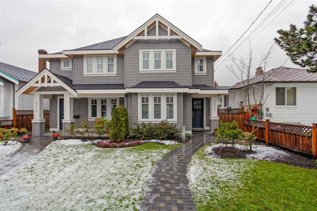 Main Photo: 3617 West 7th Avenue in Vancouver: Kitsilano House 1/2 Duplex for sale (Vancouver West)