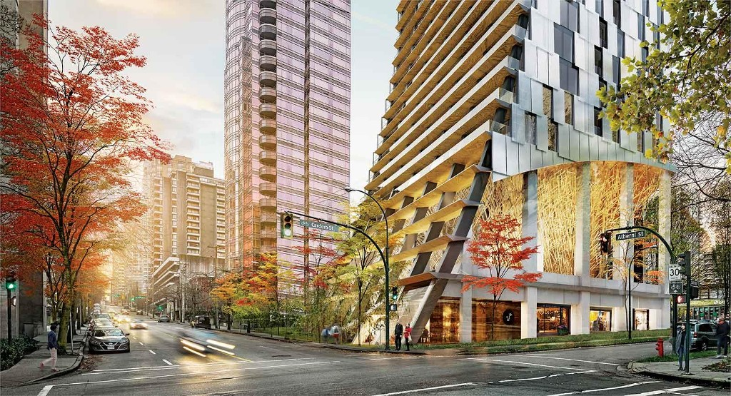 Main Photo: ALBERNI in Vancouver: West End VW Condo for sale (Vancouver West)  : MLS(r) # PRESALE