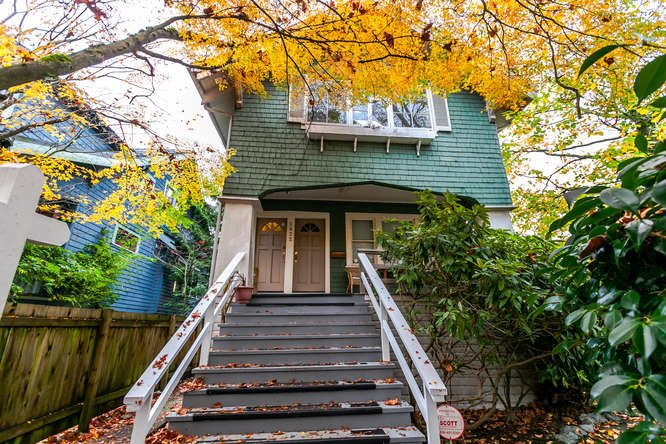 Main Photo: 2622 MACKENZIE STREET in Vancouver: Kitsilano House for sale (Vancouver West)  : MLS®# R2122056