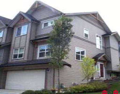 "Main Photo: 69 8737 161ST ST in Surrey: Fleetwood Tynehead Townhouse for sale in ""BOARDWALK"" : MLS® # F2602856"