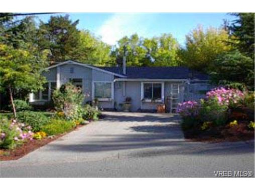 Main Photo: 4280 Caen Road in VICTORIA: SE High Quadra Single Family Detached for sale (Saanich East)  : MLS® # 170157
