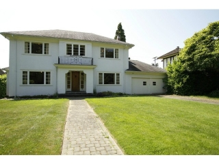 Main Photo: 1438 W 37TH Avenue in Vancouver: Shaughnessy House  (Vancouver West)  : MLS® # V1126008