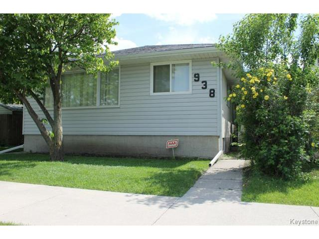 Main Photo: 938 Polson Avenue in WINNIPEG: North End Residential for sale (North West Winnipeg)  : MLS® # 1415517
