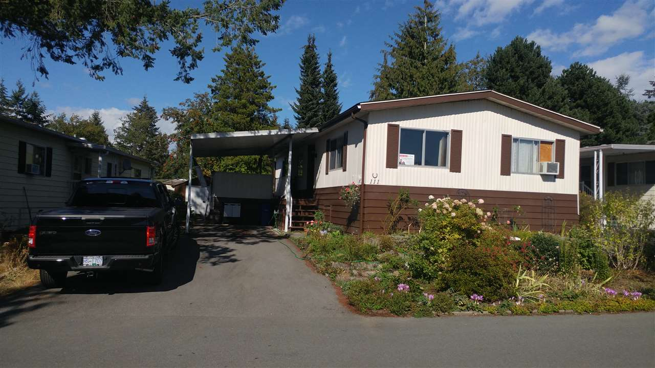 Photo 2: 111 3665 244TH STREET in Langley: Otter District Manufactured Home for sale : MLS® # R2105828
