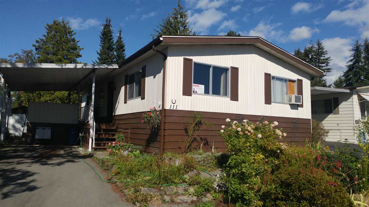 Main Photo: 111 3665 244TH STREET in Langley: Otter District Manufactured Home for sale : MLS® # R2105828