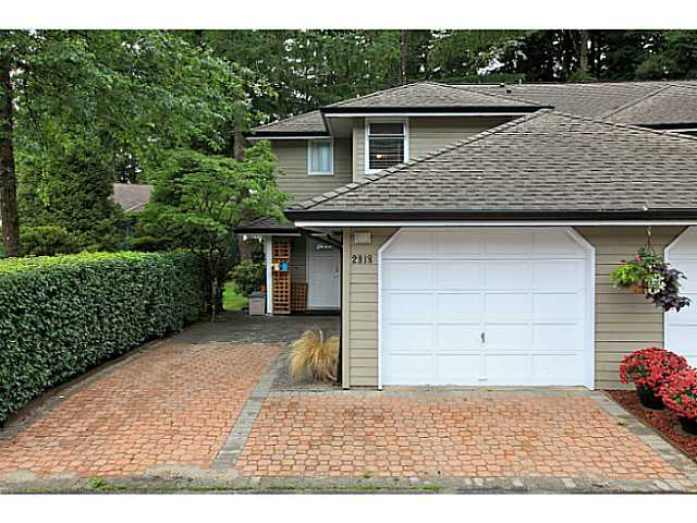 Main Photo: 2918 Mt Seymour Parkway in : Northlands Townhouse for sale (North Vancouver)  : MLS® # v1028067