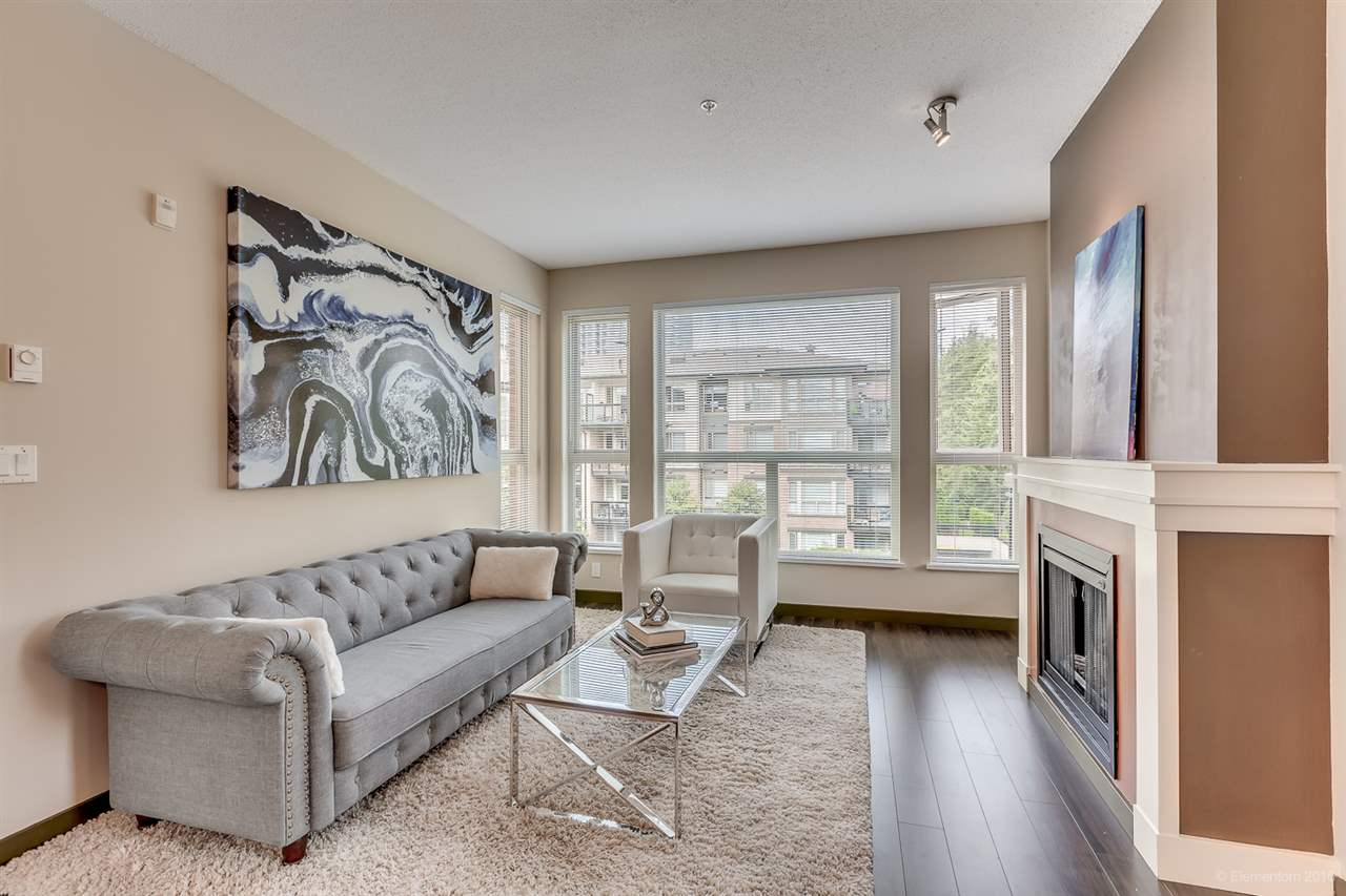 Main Photo: 314 1153 KENSAL PLACE in Coquitlam: New Horizons Condo for sale : MLS® # R2101554