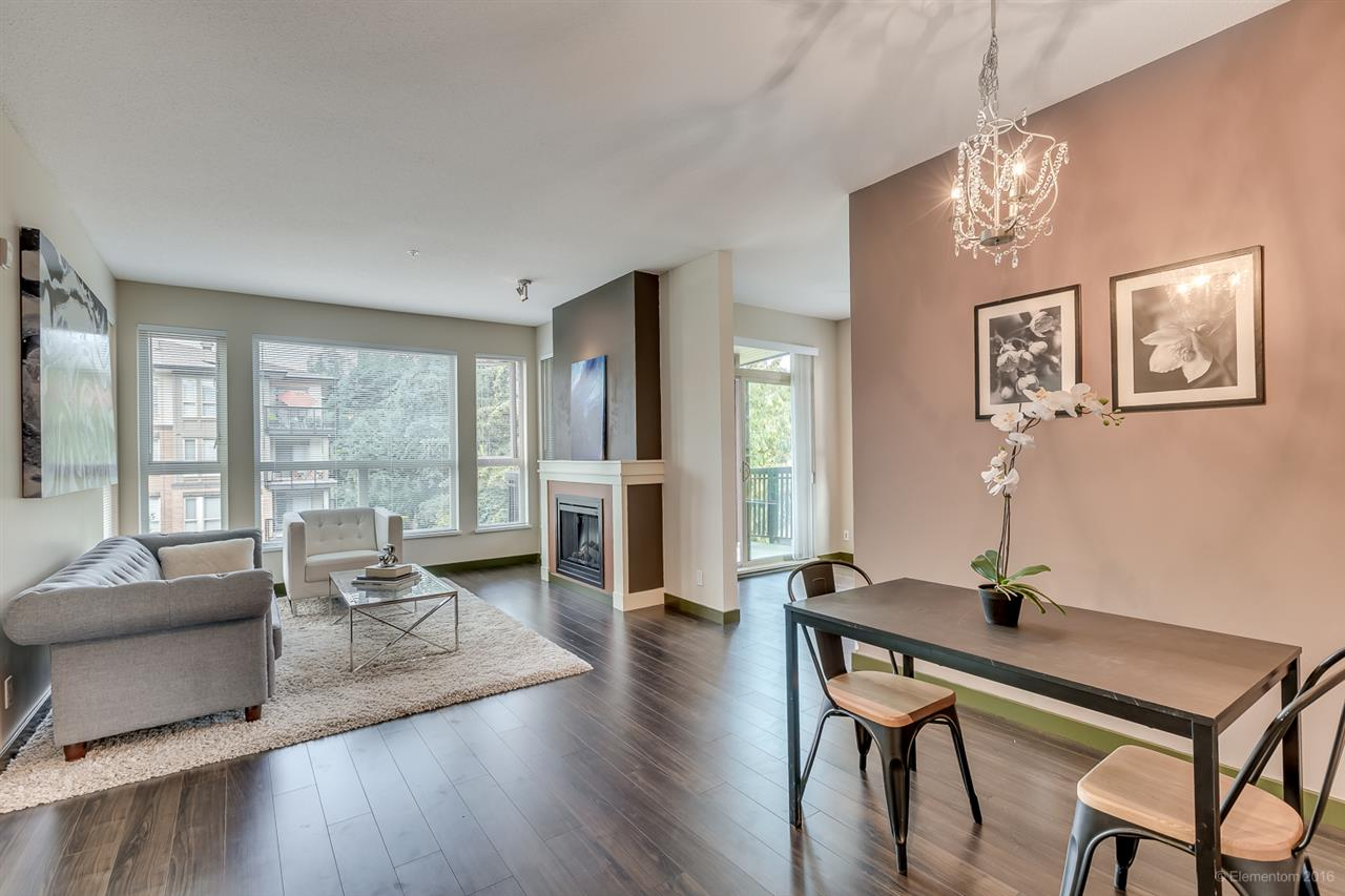 Photo 2: 314 1153 KENSAL PLACE in Coquitlam: New Horizons Condo for sale : MLS® # R2101554