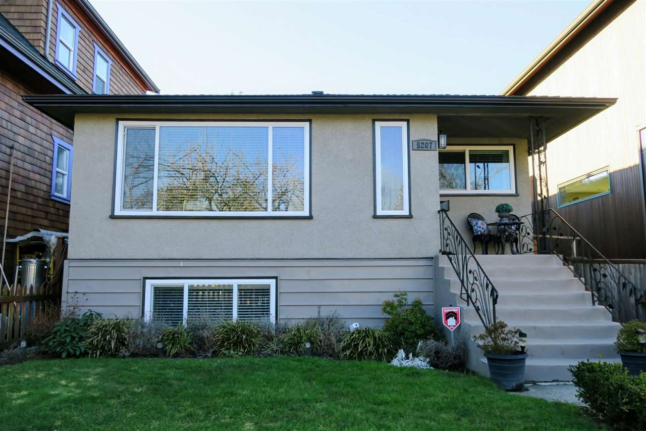 Main Photo: 5207 PRINCE ALBERT STREET in Vancouver: Fraser VE House for sale (Vancouver East)  : MLS® # R2136310