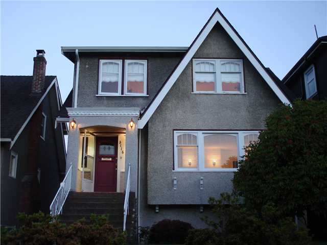Main Photo: 3116 W 24TH AV in Vancouver: Dunbar House for sale (Vancouver West)  : MLS® # V1011932