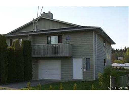 Main Photo: 1304 Roy Road in VICTORIA: SW Strawberry Vale Strata Duplex Unit for sale (Saanich West)  : MLS® # 164909