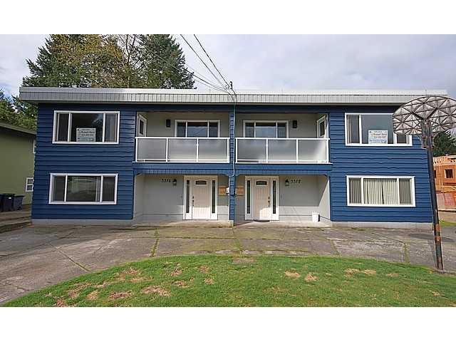 "Main Photo: 3378 VIEWMOUNT Drive in Port Moody: Port Moody Centre House Duplex for sale in ""CITY'S ""OCP"" AS MULTI-FAMILY"" : MLS® # V943156"