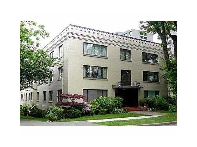 "Main Photo: # 4 985 JERVIS ST in Vancouver: West End VW Condo for sale in ""Sherwood Lodge"" (Vancouver West)  : MLS® # V996836"