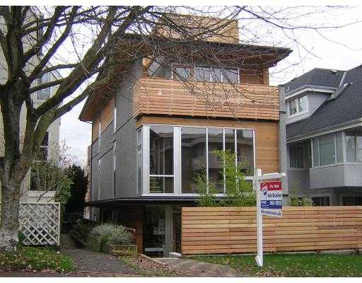Main Photo: 2115 W 1ST AV in : Kitsilano House 1/2 Duplex for sale : MLS®# V689502