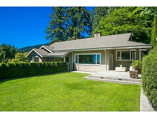 Main Photo: 2655 Palmerston Av in West Vancouver: Queens House for sale : MLS® # V1070700