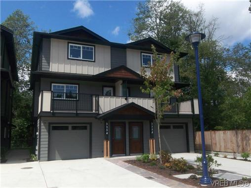 Main Photo: 3354 Radiant Way in VICTORIA: La Happy Valley Strata Duplex Unit for sale (Langford)  : MLS® # 317075