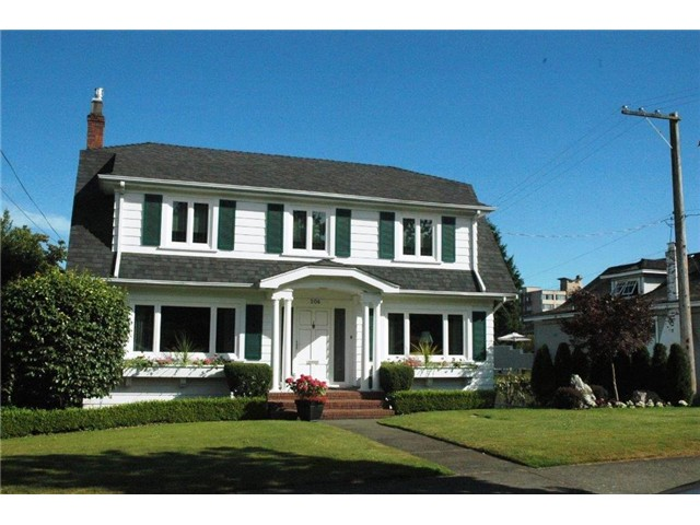 "Main Photo: 206 QUEENS AV in New Westminster: Queens Park House for sale in ""QUEENS PARK"" : MLS® # V1023138"