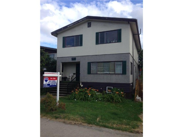 "Main Photo: 1804 E 12TH Avenue in Vancouver: Grandview VE House for sale in ""COMMERCIAL DRIVE"" (Vancouver East)  : MLS® # V1074045"