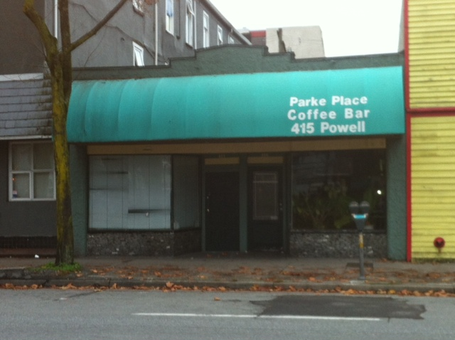Main Photo: 411 Powell Street in Vancouver: Retail for sale