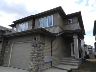 Main Photo: 8513 CUSHING Place in Edmonton: Zone 55 House Half Duplex for sale : MLS®# E4108446