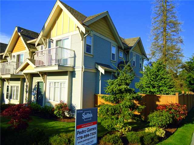 Main Photo: 3188 GILMORE Avenue in Burnaby: Central BN Townhouse for sale (Burnaby North)  : MLS®# V1009445